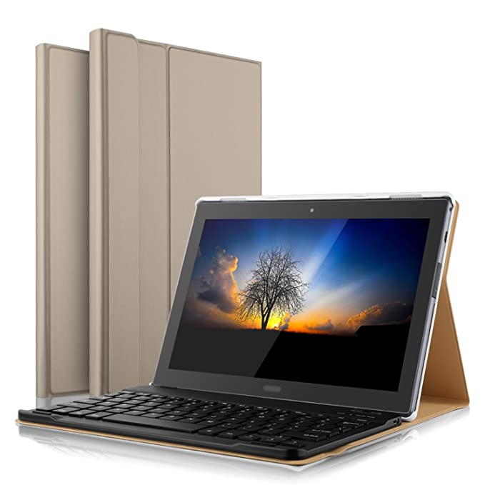 Amazon.com: IVSO Lenovo Tab 4 10 Plus Funda con teclado ...