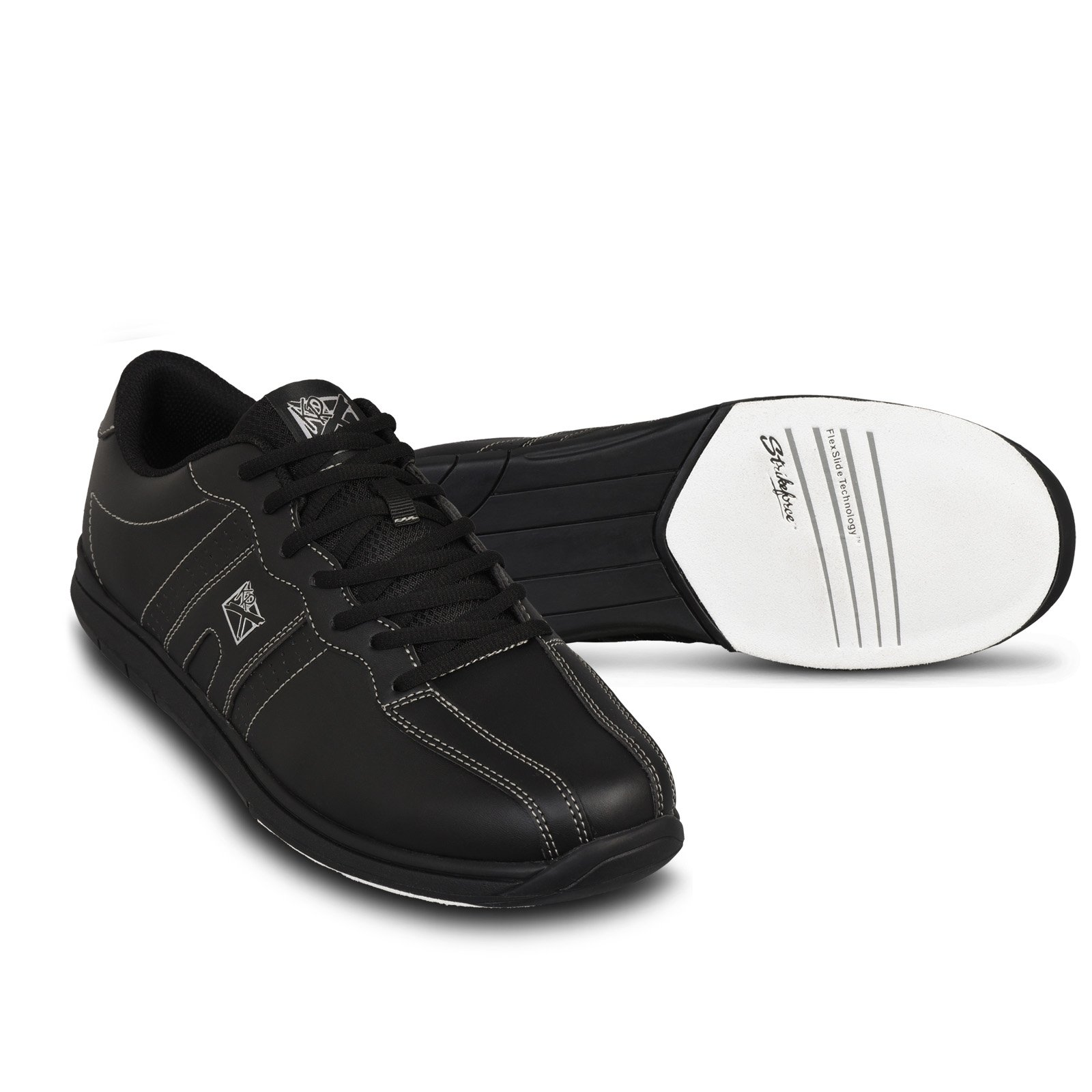 KR Strikeforce Men's O.P.P Wide Bowling Shoes, Black, Size 10 by KR Strikeforce