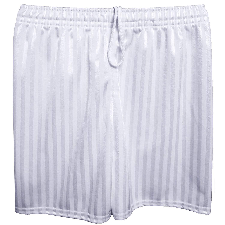 ONLYuniform School Uniform Boy Activewear Elasticated Waist PE Shadow Stripe Football Shorts