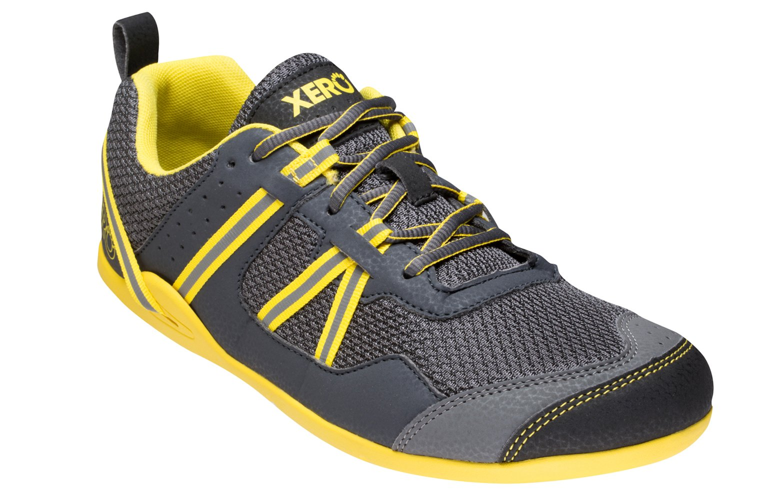 Xero Shoes Prio - Men's Minimalist Barefoot Trail and Road Running Shoe - Fitness, Athletic Zero Drop Sneaker - True Yellow by Xero Shoes (Image #1)
