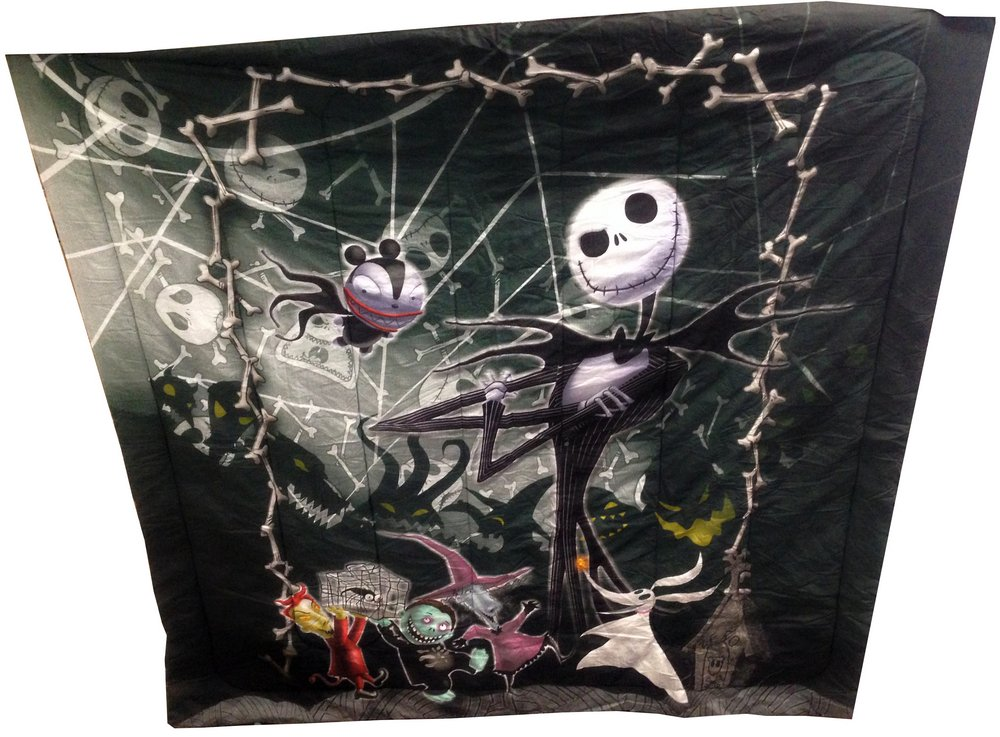 Nightmare Before Christmas Full / Queen Comforter with Jack ...