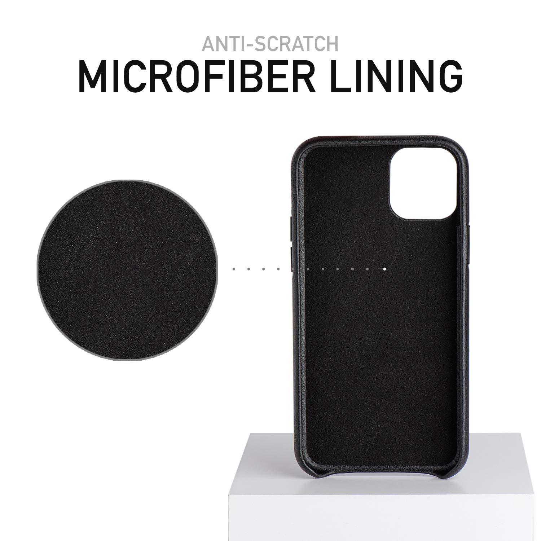 Ốp lưng da Leather Case chống sốc cho iPhone 11 Pro  - 11 Pro Max (siêu mềm mịn, chống sốc tốt, bảo vệ tuyệt đối)
