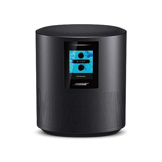 Bose Home Speaker 500 mit integrierter Amazon Alexa-Sprachsteuerung Schwarz
