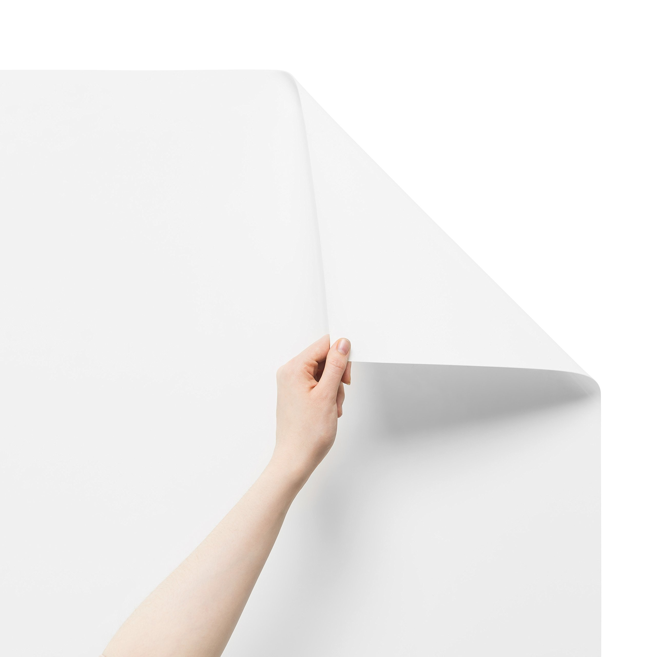 Think Board Premium Whiteboard Film, Peel and Stick, X-Large, White by Think Board (Image #2)