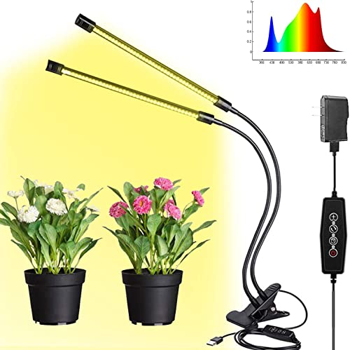 Hi-Sdard Led Grow Light for Indoor Plants Dimming and Timing Grow Lamp Timing for Seedling Growing Flowering Fruiting