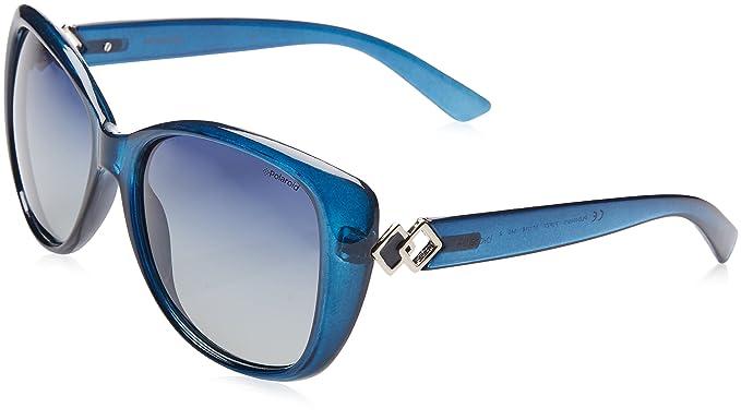 Polaroid Damen Sonnenbrille » PLD 4049/S«, blau, PJP/Z7 - blau/blau