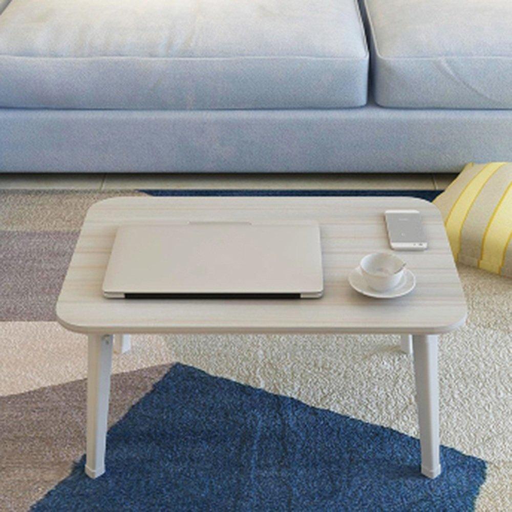 調節可能な 折りたたみテーブルシンプルな折り畳みコンピュータデスクベッド学生デスクレイジーデスク8色オプション60 * 40 * 29センチメートル 回転することができます ( 色 : H h ) B07CFKTVG9  H h