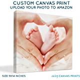 "Your Photo on Custom Personalized Canvas Prints (11x14) 0.75"" Wrap - Great Gift Idea by Easy Canvas Prints"