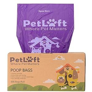 Petloft poop bags