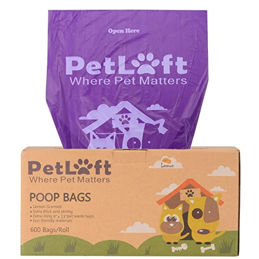 PETLOFT Poop Bags for Dogs