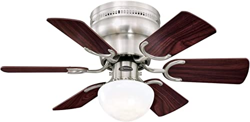 Westinghouse Lighting 7230700 Petite Indoor Ceiling Fan