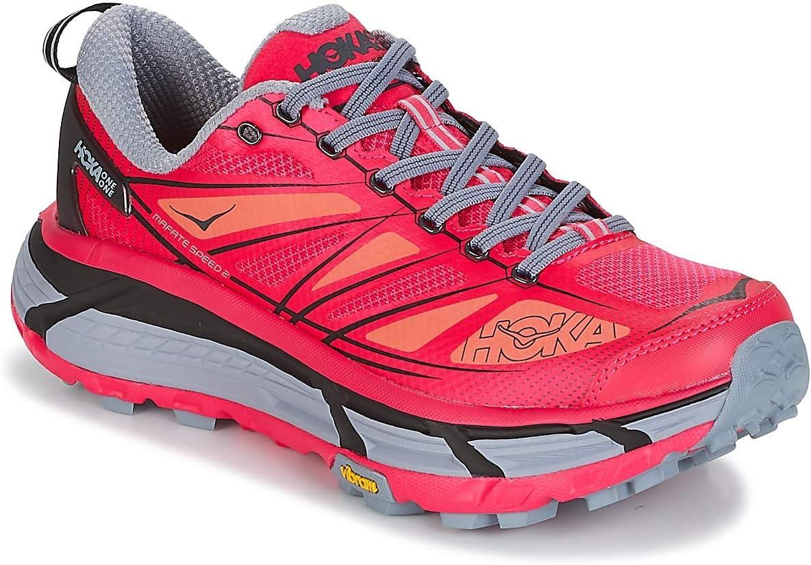 HOKA Mafate Speed 2 Woman Azalea/Black – Zapatillas Trail Running para Mujer, 42: Amazon.es: Deportes y aire libre