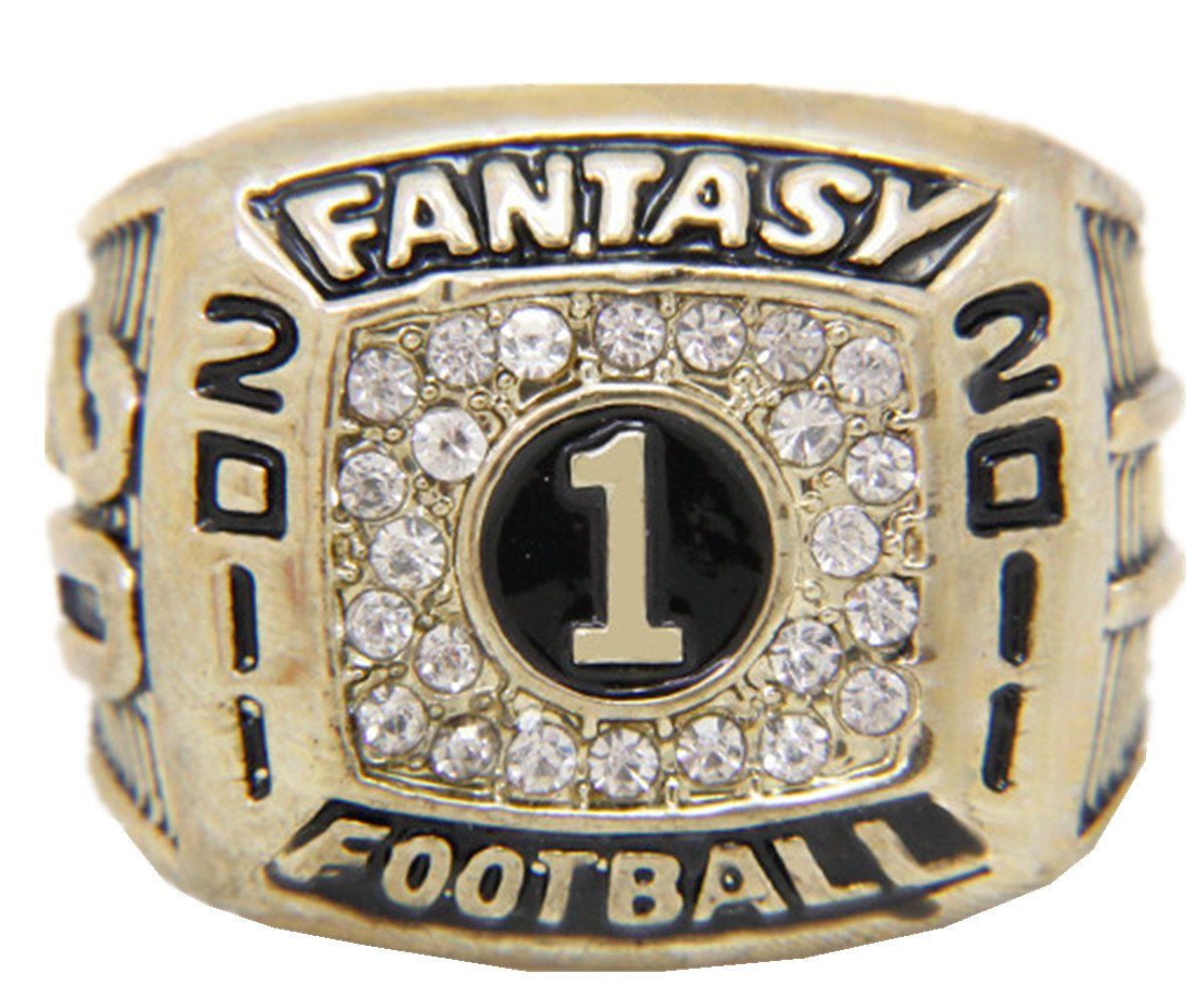 TYSping Fantasy Football 2011-2017 Championship Ring Trophy Prize (2011)