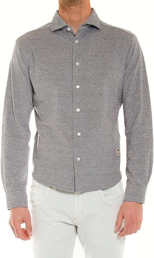 Carrera Jeans - Camisa para Hombre, Color Liso, Punto Pique ...