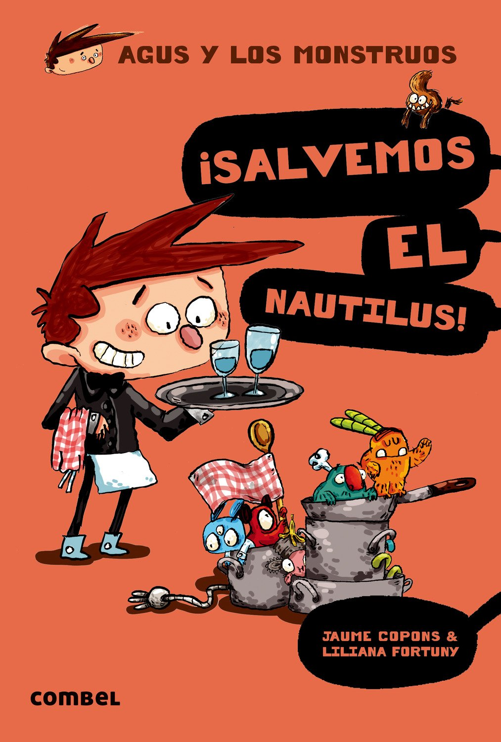 Download ¡Salvemos el Nautilus! (Agus y los monstruos) (Spanish Edition) PDF