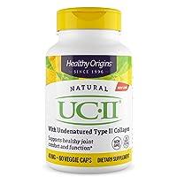 Healthy Origins UC-II (Undenatured Type II Collagen) 40 mg, 60 Veggie Caps