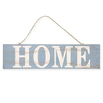 Cartel de madera vintage Welcome Home Family Shabby Cartel ...