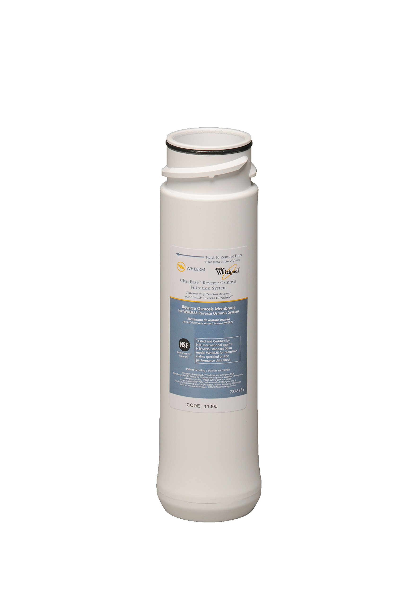 Whirlpool WHER25 Reverse Osmosis Water Filtration System - Built in USA - BEST BUY by Whirlpool