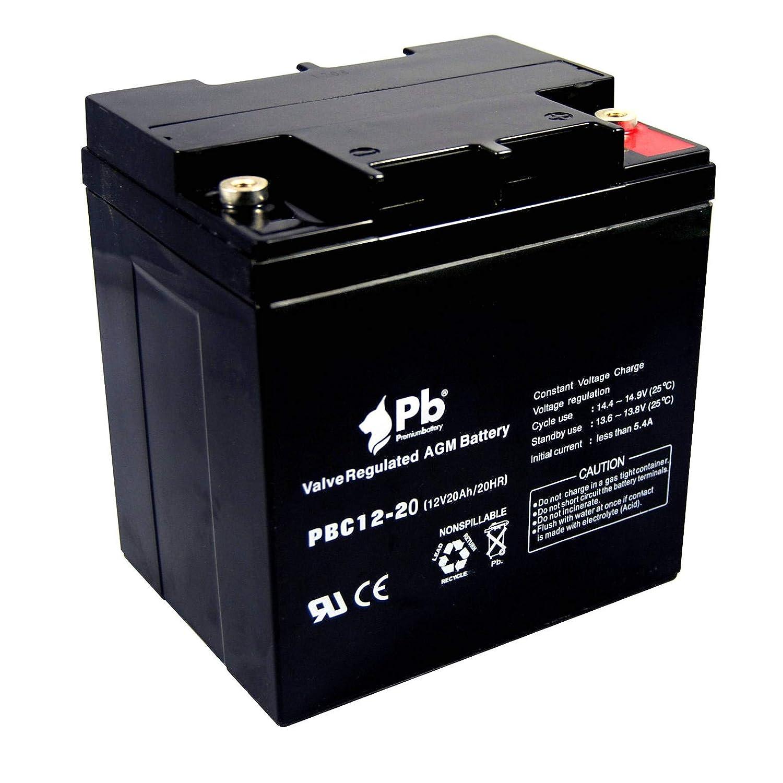 Batería AGM ciclo profundo 12V 20Ah