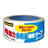 3M スコッチ超強力多用途補修テープ透明タイプDUCT-TP18
