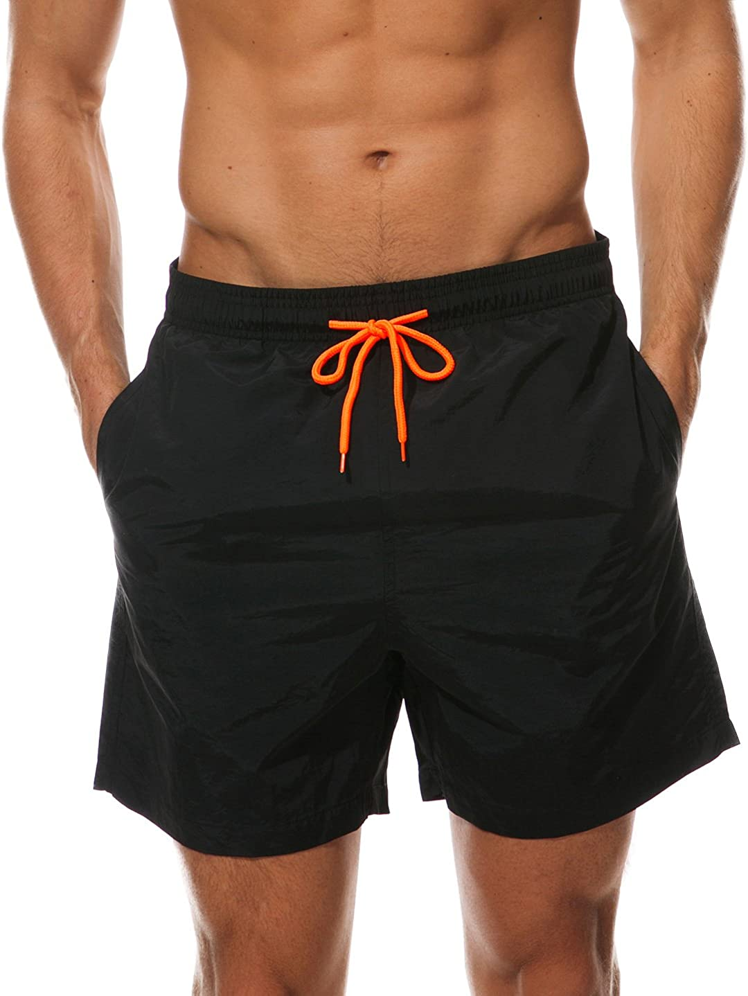 Other1 Men Swim Trunks Quick Dry Surfing Beach Shorts Elastic Waist Swimwear