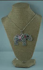 Elephant women's necklace