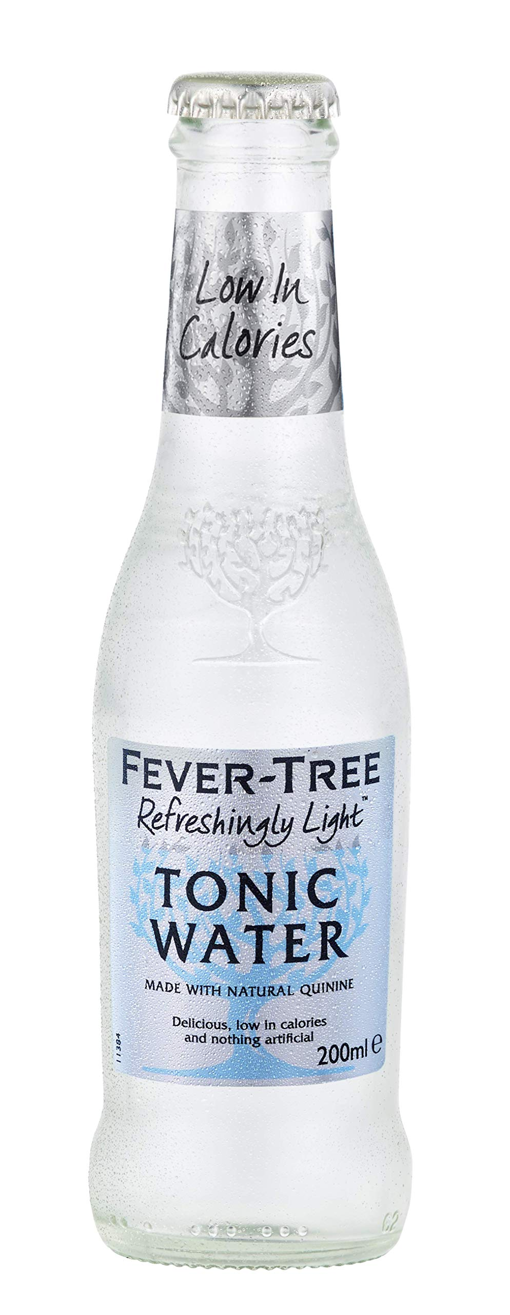 Fever-Tree Naturally Light Tonic Water, 6.8 Ounce Glass Bottles (Pack of 24)