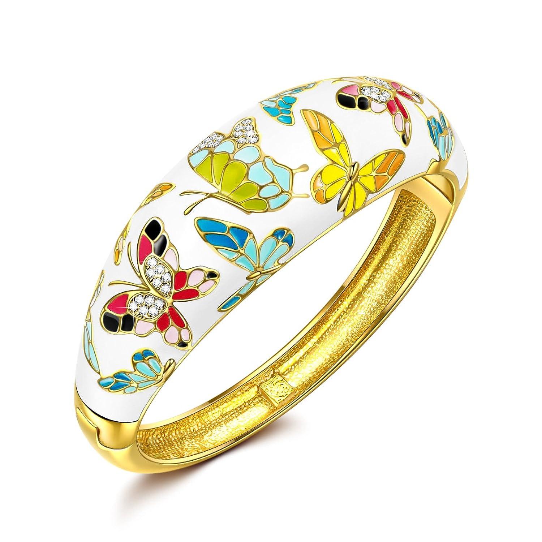 P M Primavera Versalles Pulsera Mujer Joyeria Mariposa del esmalte