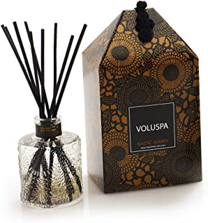 product image for Voluspa Mini Reed Diffuser, Baltic Amber, 100ml Glass
