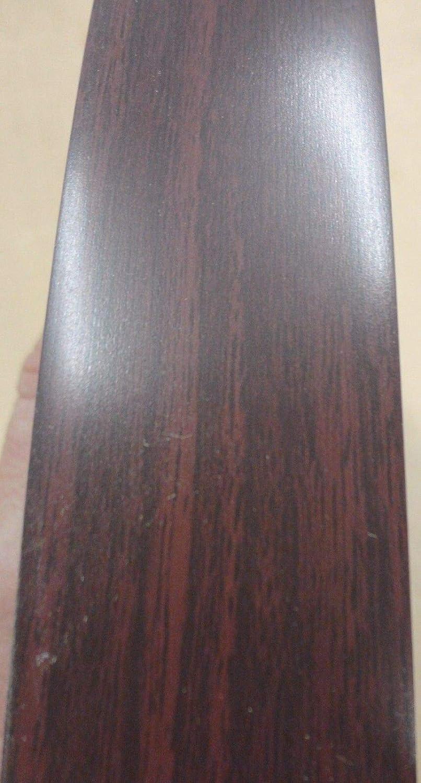 Empire Mahogany Wilsonart # 7122 PVC edgebanding 1-5//16 x 120 inches x 1//50