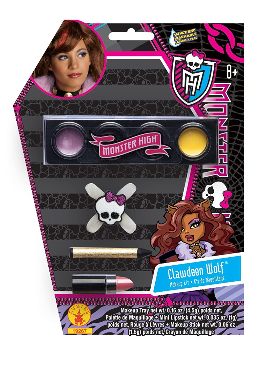 Amazon.com: Monster High Make-Up Kit, Clawdeen Wolf: Toys & Games