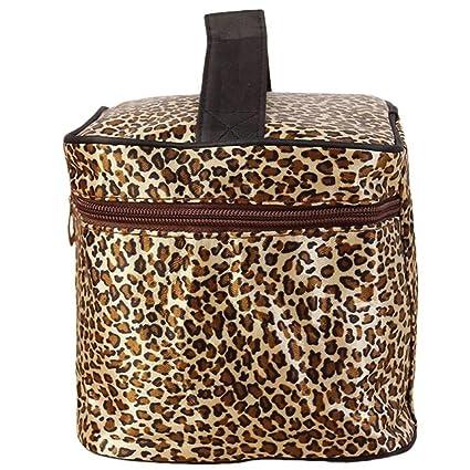 Bolsas de aseo,Sannysis Estampado de leopardo Bolsas de ...