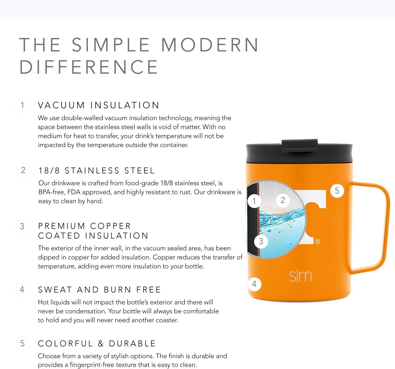Simple Modern 12oz Scout Coffee Travel Mug 12oz Mug Volunteers