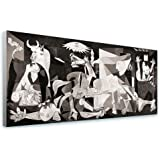 """Alonline Art - Guernica Pablo Picasso FRAMED STRETCHED CANVAS (100% Cotton) Gallery Wrapped - READY TO HANG 