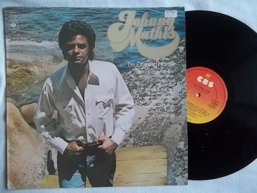 Johnny Mathis - JOHNNY MATHIS I\'m Coming Home vinyl LP - Amazon.com ...