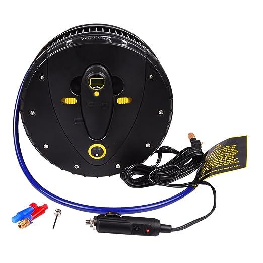 Michelin 12260 Hi Power Tyre Inflator With Detachable Digital Pressure Gauge Black Amazonin Car Motorbike