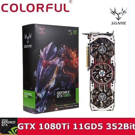 Colorful iGame GTX 1080 Ti vídeo tarjeta gráfica, Turquía Últimas NVIDIA, 3584 de GPU