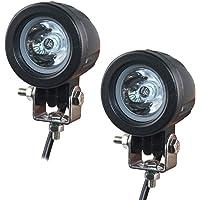 Eklamp Extra koplamp voor motorfiets, 2 inch, 10 W, LED, koplamp, auto, werklamp, spotlight, 6500 K, IP67 offroad extra…
