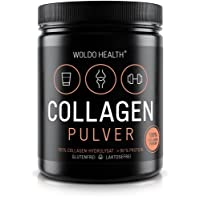 Collagen Powder Hydrolysate Supplement 100% Protein - 500g Peptide I Easy to Dissolve I Resealable I Healthy Skin Hair Nails I Unflavoured