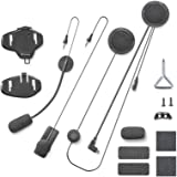 Cellularline Micinterphominiusb Kit audio con 2 microfoni per Interphone Sport/Tour/Urban
