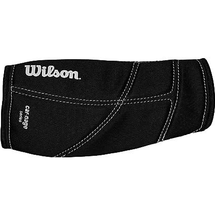 Amazon.com: Wilson Youth Carnage antebrazo Pad (Negro ...