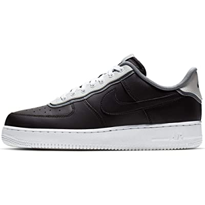 Nike Men's Air Force 1 LV8 Black/Black/Pure Platinum/Cool Grey Leather Casual Shoes 13 M US   Fashion Sneakers