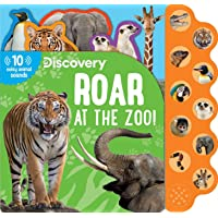 Discovery: Roar at the Zoo! (10-Button Sound Books) (Image on Book may slightly vary)