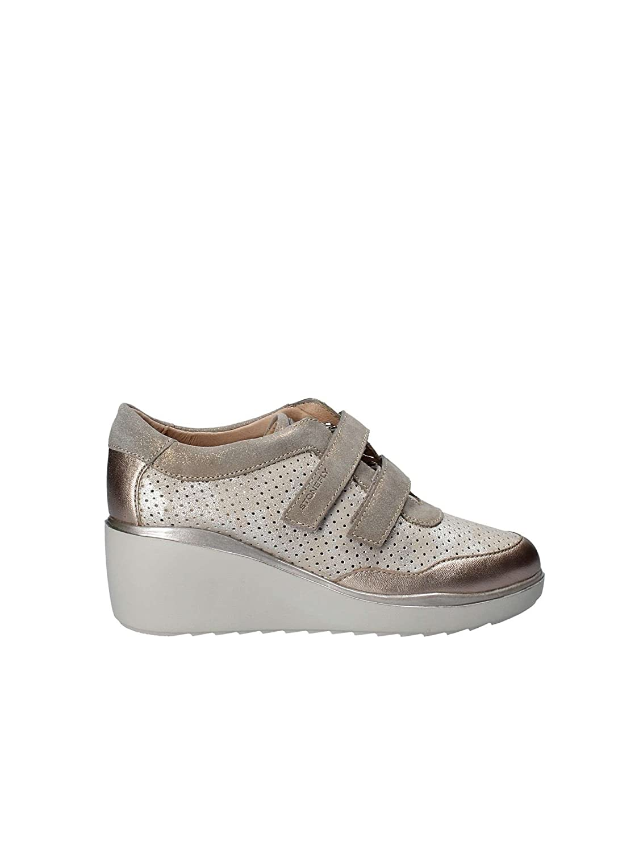 TALLA 36 EU. Zapatos para Mujer, Color Metálico, Marca STONEFLY, Modelo Zapatos para Mujer STONEFLY Eclipse 9 Metálico