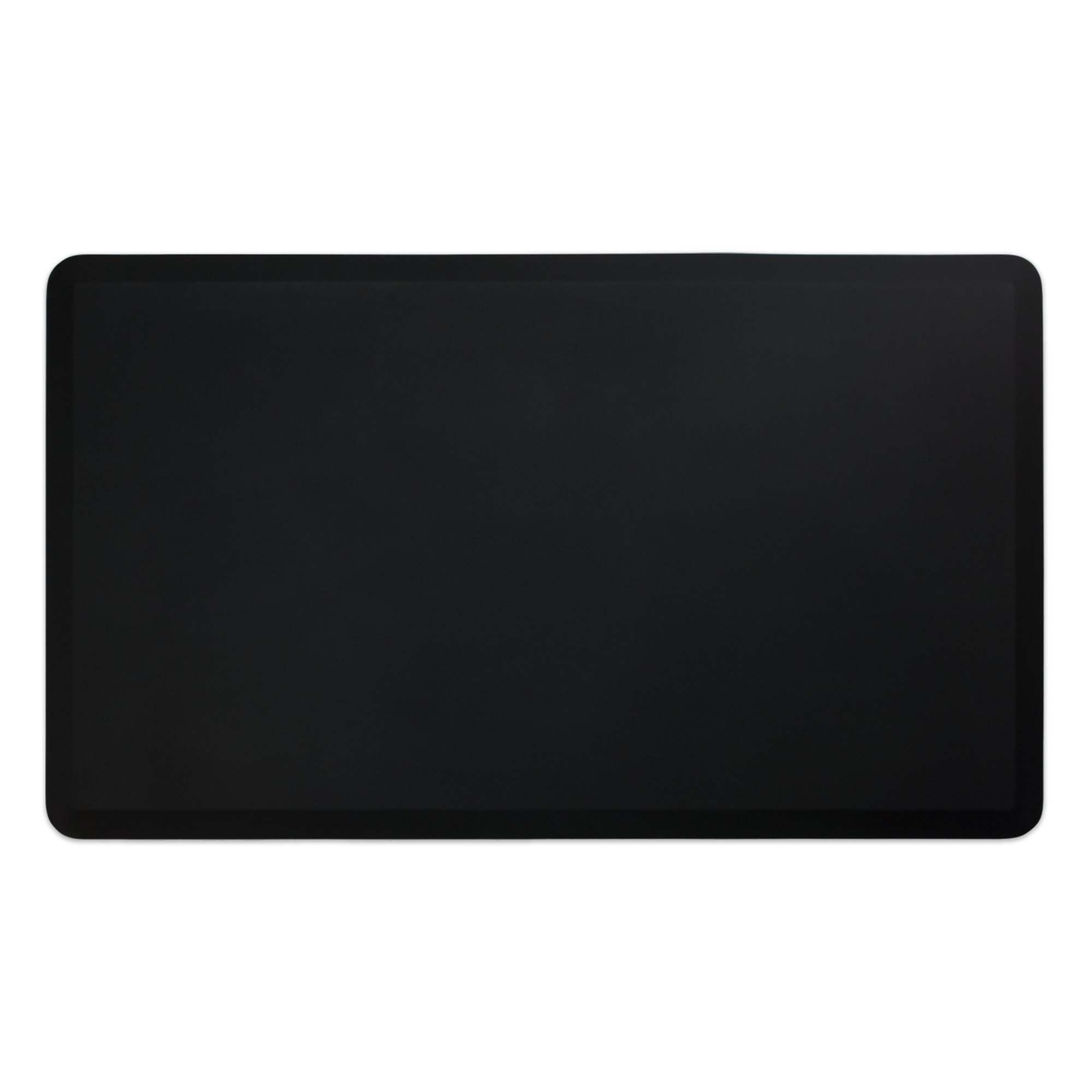 "NewLife by GelPro Professional Grade Anti-Fatigue Kitchen & Office Comfort Mat, 36x60, Midnight ¾"" Bio-Foam Mat with non-slip bottom for health & wellness"
