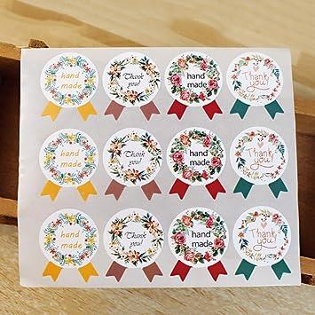 Amazon.com: 60 pegatinas hechas a mano de lote de pegatinas ...