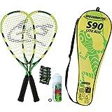 SPEEDMINTON Badmintonschläger Speedminton Set S90 in Fulllcover, Keine Farbe