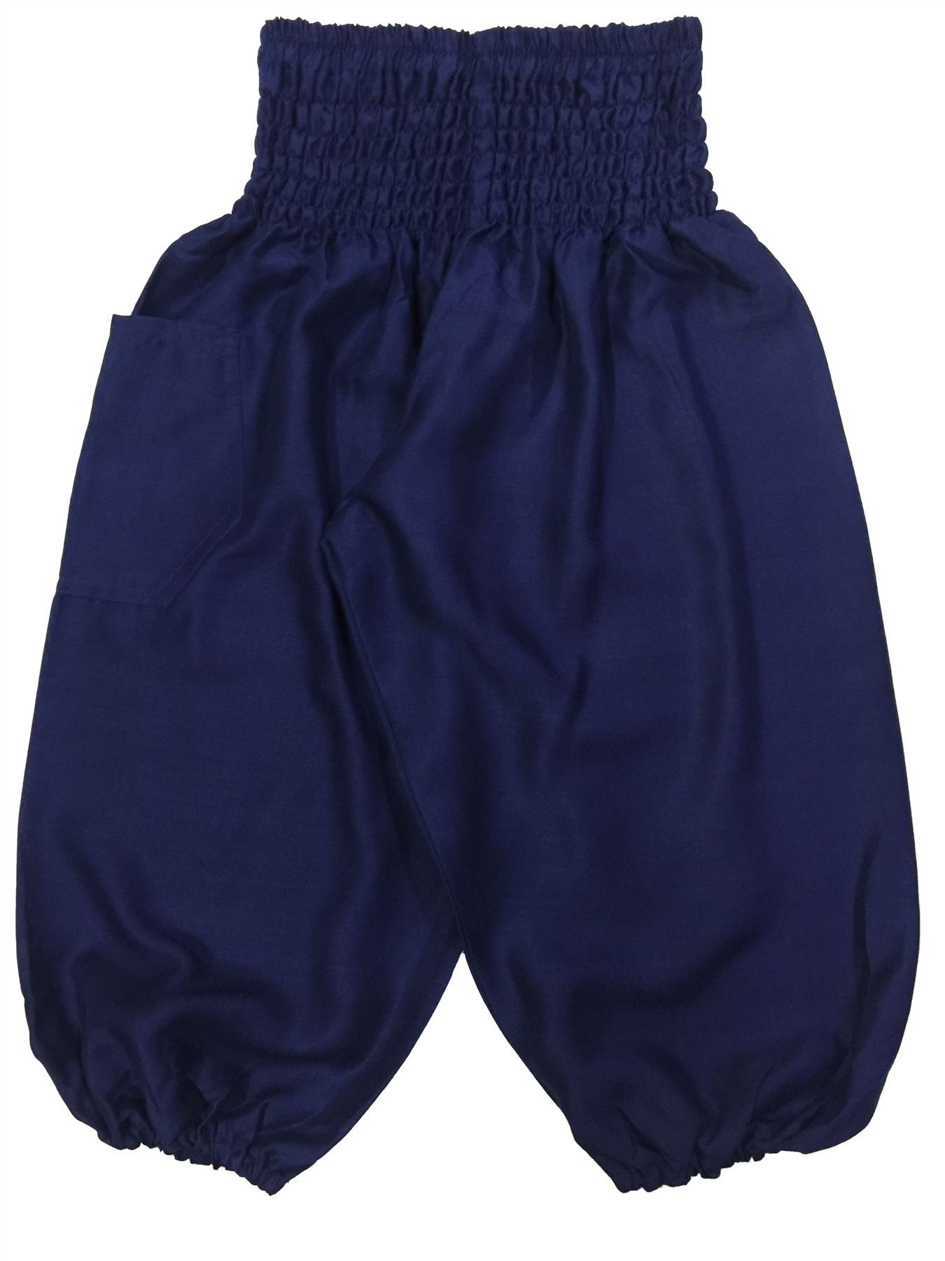 4ce1ca3f10dc Galleon - Lofbaz Kids Solid Hippy Gphsy Child Pirate Pants Thai Bohemian  Dark Blue Size 4T