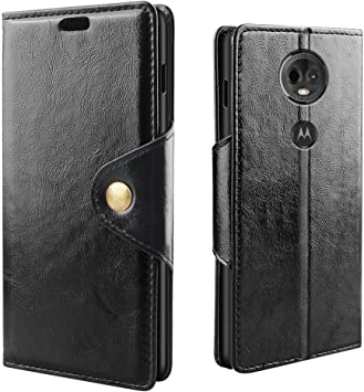 RIFFUE Funda Moto E5 Plus, Motorola E5+ Carcasa Libro Tapa Piel Cartera Delgada Retro Dibujo PU Ranuras Billetera para Motorola Moto E5 Plus: Amazon.es: Electrónica
