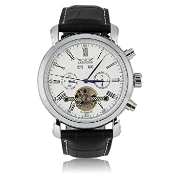 Amazon.com: Relojes de Hombre Mens AUTO Mechanical Watch ...